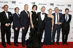 Michael Fassbender, Kate Winslet and more at the London Film Festival closing gala screening of the Steve Jobs movie