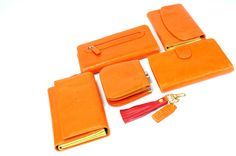 Colori has tons of new wallets in colorful leathers designed locally.