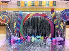 Prom candy theme decorations