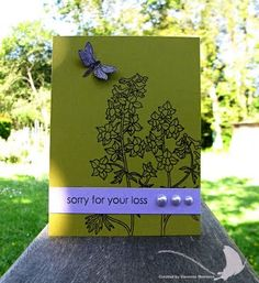 Great sympathy card