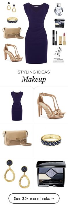 """Untitled #601"" by gallant81 on Polyvore featuring Diane Von Furstenberg, Tory Burch, UGG Australia, Feather & Stone, Christian Dior, Yves Saint Laurent and Fornash"
