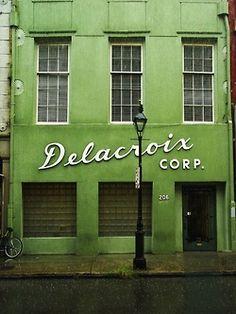 Delacroix Corp., French Quarter, New Orleans