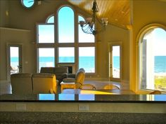 Private Homes Vacation Rental - VRBO 366892 - 6 BR Myrtle Beach South House in SC, 'Low Tide Too' Stunning Oceanfront Home with Pool & Hot Tub!