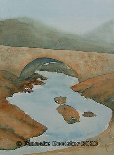 Antwerp, Arches, Watercolour, Scotland, Bridge, Challenge, Van, Colours, Website