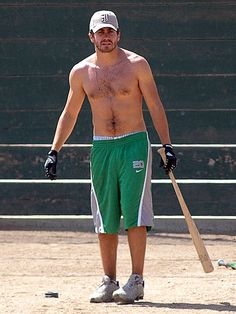 BATTER UP   photo | Jake Gyllenhaal
