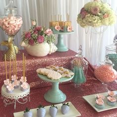 Shabby Chic - Vintage Mermaid Baby Shower Party Ideas | Photo 1 of 15