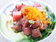 Hawaiian Spicy Ahi Poke Bowl — Recipes Inspired