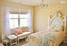 Little Girl's French-Inspired Room