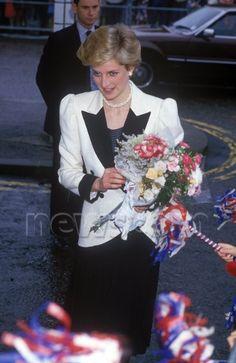 October 10 1986 Diana, Patron, Birthright, opened the Harris Birthright Centre for Perinatal Medicine at the John Radcliffe Hospital, Headington Road in Oxford