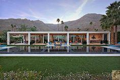 Sleek Desert Modern in California.