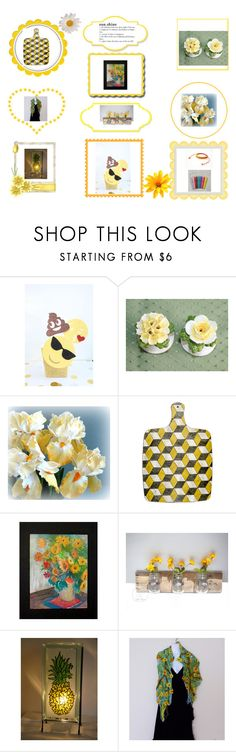 """""""Summer Sunshine"""" by beachdawn ❤ liked on Polyvore featuring Humör and Aynsley"""