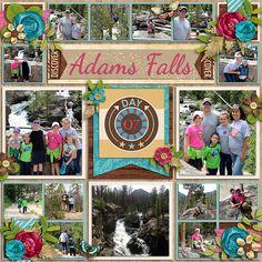 Adams Falls - Scrapbook.com