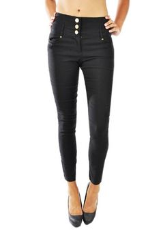 High-Waisted black skinny pants. I think these are really cute, but am definitely not skinny enough to pull them off.
