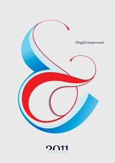 Moshik Nadav Typography | Playful Ampersand - Experimental Typography Project