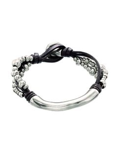 Midpoint Bracelet from Uno de 50 at Art Effect boutique in Chicago.
