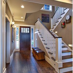 Oak Floors With Dark Stain Design, Pictures, Remodel, Decor and Ideas