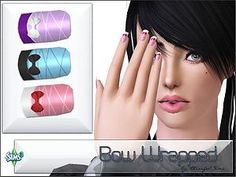 Mod The Sims - Bow Wrapped Nails