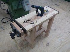 Mini Workbench! - by Michaelgurrado @ LumberJocks.com ~ woodworking community #WoodworkingBench