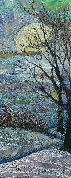 Фантастические пейзажи в вышивках Rachel Wright - Ярмарка Мастеров - ручная работа, handmade