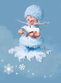 Schneeflöckchen mit Liederbuch 43054