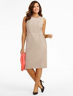 Talbots - Seasonless Wool Dress | Suiting | Woman