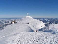 """Untersberg Austria  There is a cable car that goes straight up the mountain to get this glorious view.  This is the mountains you see in """"Sound of Music"""" only from another direction....JL"""