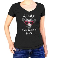 Relax I've Goat This T-Shirt Funny Goat TShirt Mens by boredwalk #babygoatfarm