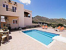 Villa Kostis, Bali, Crete Sleeps 4 to 7 people  Crete holiday villa with private pool, near tavernas, Wifi Internet, Barbeque.