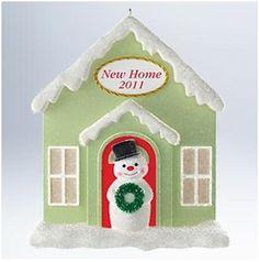2011 New Home Hallmark Ornament | Hallmark Keepsake Ornaments at Hooked on Hallmark Ornaments
