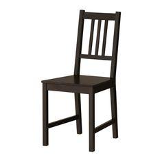 IKEA - สเตียฟาน, เก้าอี้, ผลิตจากไม้จริง ซึ่งเป็นวัสดุธรรมชาติที่ทนทานการใช้งาน