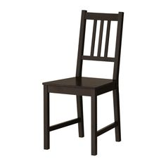 I have my eye on several chairs for the kitchen but if budget becomes a problem I will go with these. Ikea--solid wood and only $19.99!!
