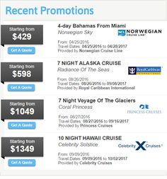 Last Minute Cruise Deals and All-inclusive Vacation Deals | CruiseOffers.net