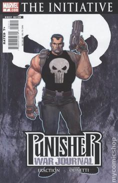 Punisher War Journal (2006-2009 2nd Series) 7B Marvel Comic books modern age covers