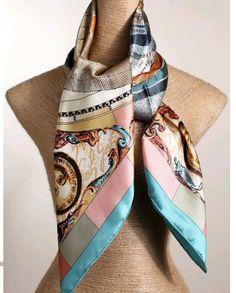 96 Best animal print images   Scarf styles, Silk, Silk scarves bc2c1c69c9e
