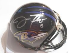 Joe Flacco Baltimore Ravens Signed Autograph Mini Helmet Authentic Certified Coa by all-star sports. $69.99. hand signed mini helmet . will come with a coa and 100% money back if you are not happy .