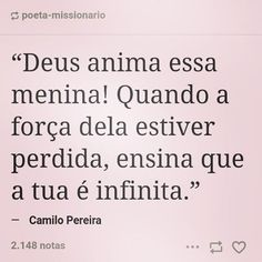 """2,415 curtidas, 63 comentários - Poeta Missionário (@poeta_missionario) no Instagram: """"Ora mais menina, se enche de Deus, que você não desanima. Marque alguém nessa oração! #boanoite…"""""""