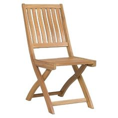 Wood Bistro Patio Chair - Threshold™ : Target