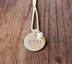 Y'all Sterling Silver Necklace - Southern Necklace, Perfect Valentine's Day Gift, Texas Jewelry