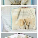 This is such a neat idea, but I'm not sure I have the requisite patience for this project The Sewing Rabbit: Folded Book Art DIY (video)