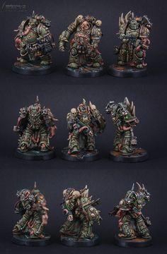 Warhammer 40k Miniatures, Space Marine, Marines, Death
