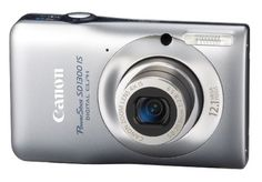 Canon PowerShot SD1300 IS 121 MP Digital Camera with 4x Wide Angle Optical Image Stabilized Zoom and 27Inch LCD Silver ** AMAZON Great Sale