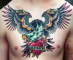 Eagle-Chest-Piece-Tattoos-for-Men.jpg (600×500)