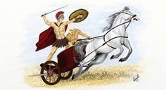 Image result for roman chariot racing