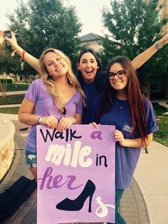 Walk A Mile in Her Shoes 2014. #tcualphachi