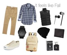 """""""It feels like Fall"""" by bluejeansfrog ❤ liked on Polyvore featuring Banana Republic, The North Face, Billabong, Converse, Beats by Dr. Dre, Ralph Lauren, Diesel, Steve Madden, Salvatore Ferragamo and Patagonia"""