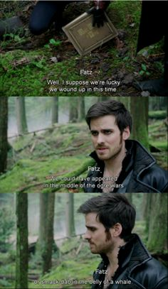 """""""We could appeared in the middle of ogre wars or smack dab in the belly of whale."""" -Hook, - """"Snow Drift"""" 3 * 21"""