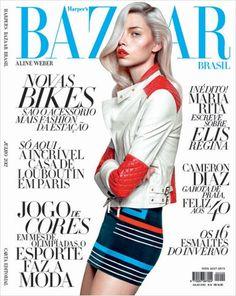 Aline Weber for Harper's Bazaar Brazil July 2012
