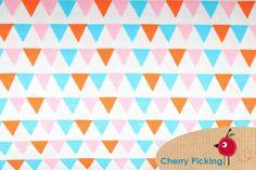 Wimpel weiß Interlock - cherry-picking-shops Webseite!