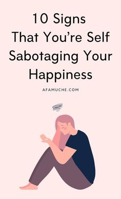 How do you identify self-sabotaging behavior? Well, in this self improvement article I will be pointing out the signs of self sabotaging behaviours and observing them as they operate – in…