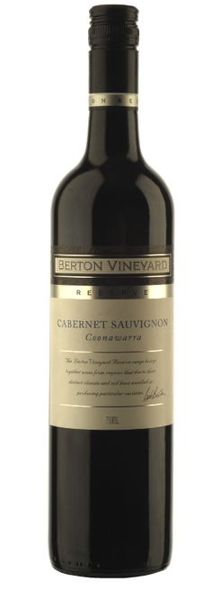 Berton Reserve Coonawarra Cabernet Sauvignon 2013 South Australian Red Wine off-dry oak
